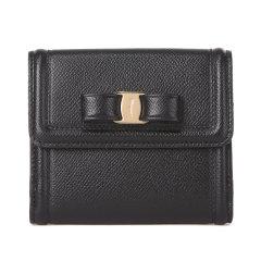 SalvatoreFerragamo/菲拉格慕女士牛皮短款钱包钱夹QCJDX图片