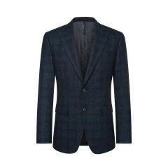 TOMBOLINI/东博利尼男士西服黑红色100%绵羊毛时尚休闲百搭单西XBU43003UDRB图片