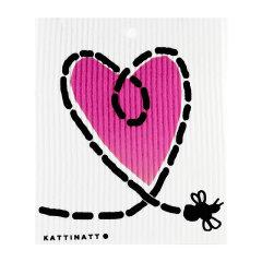 KATTINATT/KATTINATT 瑞典 调皮猫系列 夜喵布  女双面亲肤无菌抑菌超软绵柔天然滋润 卸妆棉的爱马仕 调皮猫图片