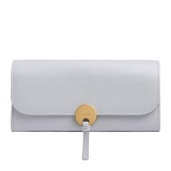 Chloe/克洛伊 19秋冬 女士牛皮时尚长款对折圆环装饰手拿包钱包图片