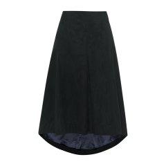 19秋冬【DesignerWomenwear】PESARO/PESARO纯色拉链休闲中长款女士半身裙图片