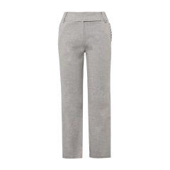 19秋冬【DesignerWomenwear】PESARO/PESARO花边直筒简约长裤女士休闲裤图片