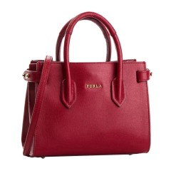 FURLA/芙拉 女士红色皮革手提单肩包斜挎包 手提包女包 978750图片
