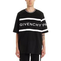 Givenchy/纪梵希 20年春夏 男士T恤 男性 黑色 男士短袖T恤 BM70KU3002004图片