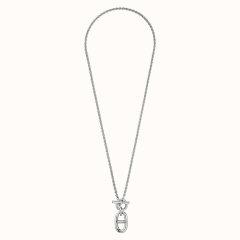 HERMES/爱马仕  锚链项链   借鉴船的锚链设计   拥有浑然天成的平衡感和既时尚又运动的造型图片