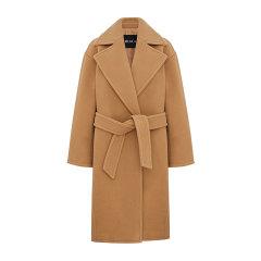 MO&Co./摩安珂女士大衣2019冬季新品腰带收腰翻领羊毛呢大衣MAI4OVCT16图片