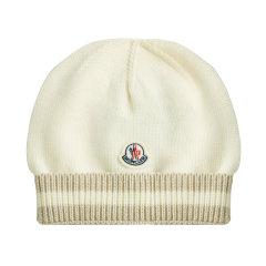 Moncler/蒙克莱儿童羊毛帽子图片