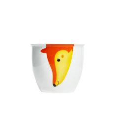 【礼品】JingRepublic/共禾京品卡通动物马克杯简约立体大容量动物陶瓷办公水杯图片