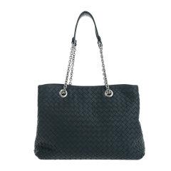 【包邮包税】Bottega Veneta/葆蝶家 20春夏  女士羊皮编织手提包单肩包图片