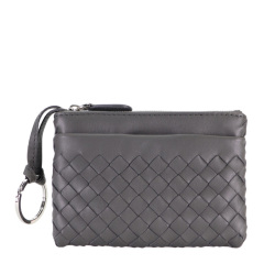 Bottega Veneta 宝缇嘉 20春夏  女士羊皮零钱包钥匙包图片
