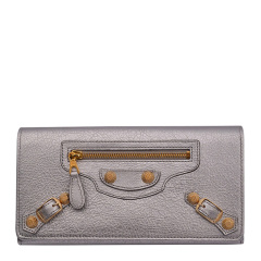 Balenciaga 巴黎世家   女士羊皮长款钱包钱夹图片