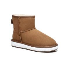 【澳洲直邮】Everugg脏脏色轻质鞋底短靴澳洲羊毛保暖防水防污雪地靴鞋子女鞋运动休闲鞋21595图片