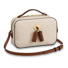 Louis Vuitton/路易威登路易威登包包 女士斜挎包手提包 LV女包单肩包相机包 黑色 LV女士SAINTONGE 手袋 手提包   单肩包 M44593图片