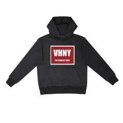 VHNY/VHNY黑白灰三色可选厚款加绒男女卫衣字母标VHNY904H图片