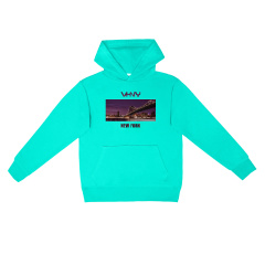 VHNY/VHNY彩色5色可选薄款男女卫衣纽约影像VHNY914H图片