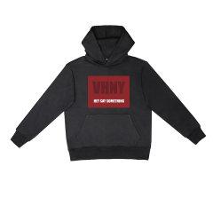 VHNY/VHNY黑白灰三色可选厚款加绒男女卫衣字母标VHNY902H图片
