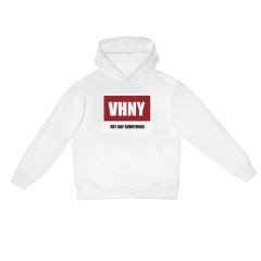 VHNY/VHNY黑白灰三色可选厚款加绒男女卫衣字母标VHNY903H图片