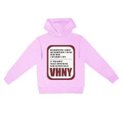 VHNY/VHNY彩色5色可选薄款男女卫衣撞色字母标VHNY917H图片