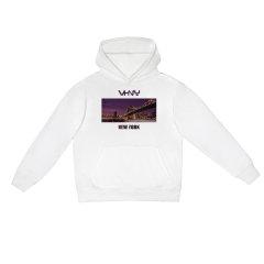 VHNY/VHNY黑白灰三色可选厚款加绒男女卫衣纽约影像VHNY910H图片