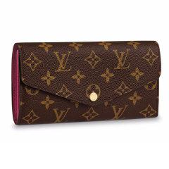 Louis Vuitton/路易威登LV女包SARAH系列老花棋盘格搭扣长款钱包钱夹  钱包 M62236图片