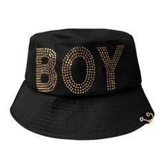 【特惠】BOY LONDON 韩版 男女同款 情侣款 时尚休闲 鸭舌帽 运动帽 韩国直邮 B81CP2002U图片