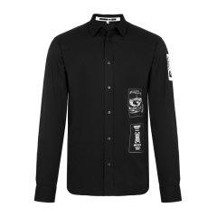 MCQ ALEXANDER MCQUEEN/MCQ ALEXANDER MCQUEEN 男士长袖衬衫休闲长袖纯棉印花衬衫 420146RLP22图片