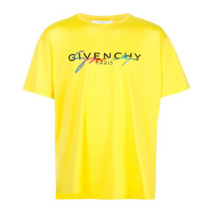 Givenchy/纪梵希【20春夏】男装 服饰 圆领棉质经典LOGO休闲半袖 男士短袖T恤 BM70RL3002图片