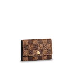 Louis Vuitton/路易威登LV男包帆布钥匙包钥匙扣6匙芭蕾粉色内衬 LV女包   N41624图片