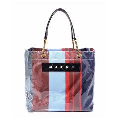 Marni/玛尼 20春夏  女士多色尼龙复古购物袋手提包图片