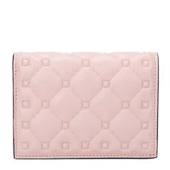 Valentino/华伦天奴 19秋冬 女士小牛皮菱格纹纯色钱包钱夹图片