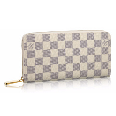 Louis Vuitton/路易威登  LV女包ZIPPY老花棋盘格长款钱包钱夹 M63490图片