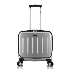 ROCKLAND/洛克兰 男女通用商务行李箱BF29 聚碳酸酯+聚酯纤维材质拉杆箱 16寸图片