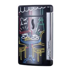 S.T. DUPONT/都彭 minijet系列 新款电子防风打火机 巴黎铁塔迷你口袋机 10539/10540/10541图片