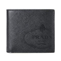 PRADA/普拉达 19新款 男士牛皮短款对折钱包 2MO513 ZLP  DX图片