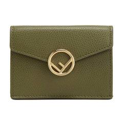 【国内现货】FENDI/芬迪 女士牛皮短款钱包钱夹 8M0395 A18B图片