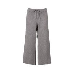 ARETE/ARETE牦牛绒阔腿九分裤女士休闲裤图片