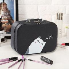 加加林户外旅行用品化妆包便携韩国简约可爱大容量多功能化妆品包收纳盒箱手提包图片