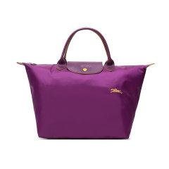 【国内现货】Longchamp/珑骧 2020秋冬 女士LEPLIAGECLUB系列中号织物短柄可折叠手提包饺子包1623619图片
