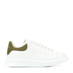 Alexander McQueen/亚历山大麦昆 20年春夏 板鞋 平底鞋 男性 拼色 白/红 板鞋 553680#WHGP7#9676图片