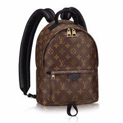 Louis Vuitton/路易威登LV女包PALM SPRINGS老花拉链双肩包背包 M51961图片