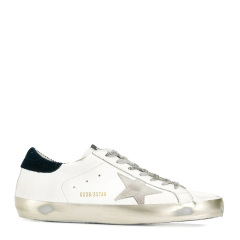 GOLDEN GOOSE DELUXE BRAND GGDB 男士超级明星白色小牛皮时尚毛绒休闲运动鞋低帮板鞋小脏鞋小白鞋男鞋 G35MS590多色可选图片