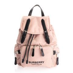 【包税】BURBERRY/博柏利 男女同款 中性时尚徽标印花军旅风双肩包背包旅行包 多色可选图片