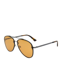 MCQ ALEXANDER MCQUEEN【20春夏新款】男女同款 中性款时尚飞行员太阳镜眼镜 MQ0136S多色可选图片