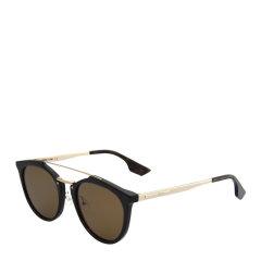 MCQ ALEXANDER MCQUEEN 男女同款圆形镜框墨镜太阳镜眼镜 MQ0037S多色可选图片