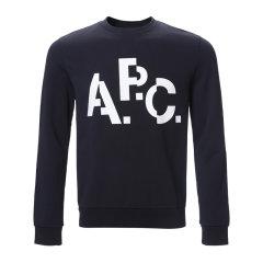 A.P.C./A.P.C. 男卫衣长袖圆领套头全棉图片