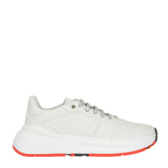 Bottega Veneta/葆蝶家 20年春夏 跑步鞋 男性 系带 平底鞋 白色 休闲运动鞋 565646 VT040 9000图片