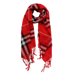 SNOW LOTUS/雪莲 秋冬 经典格纹 围巾女款 羊毛披肩 知性优雅 774460图片