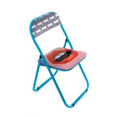 SELETTI x JOB 家纺家饰装饰摆件品 意大利家居折叠椅 椅子 创意礼品礼物图片