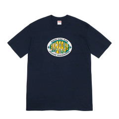 Supreme 19FW New Shit tee 门店地址电话背后大Logo短袖T恤图片