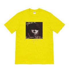 Supreme 19FW Mary J.Blige 玛丽布莱姬说唱歌手人物tee短袖图片